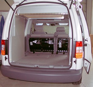 Weekend box Dream VW Caddy leer